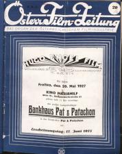 Österreichische Film-Zeitung 19270514 Seite: 1