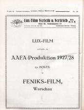 Österreichische Film-Zeitung 19270514 Seite: 22