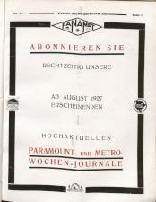 Österreichische Film-Zeitung 19270514 Seite: 3