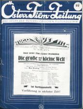 Österreichische Film-Zeitung 19270528 Seite: 1
