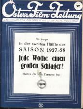 Österreichische Film-Zeitung 19270806 Seite: 1
