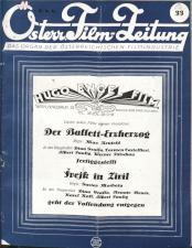Österreichische Film-Zeitung 19270813 Seite: 1