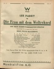 Österreichische Film-Zeitung 19270813 Seite: 31
