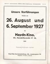 Österreichische Film-Zeitung 19270813 Seite: 46