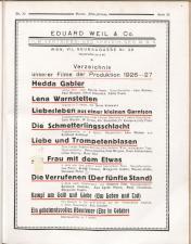 Österreichische Film-Zeitung 19270813 Seite: 61