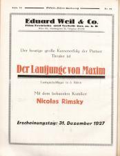 Österreichische Film-Zeitung 19270820 Seite: 30