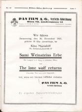 Österreichische Film-Zeitung 19271224 Seite: 7