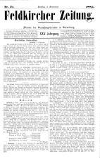 Feldkircher Zeitung