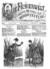 Die Frauenwelt: illustrirte Muster- und Modezeitung