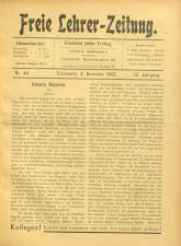 (Neue) Freie Lehrer-Zeitung
