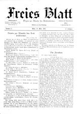 Freies Blatt 18930319 Seite: 1