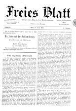 Freies Blatt 18930625 Seite: 1