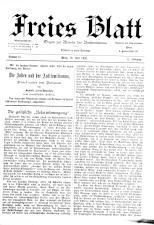Freies Blatt 18930716 Seite: 1