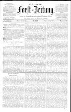 Österreichische Forst-Zeitung