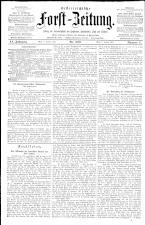 Österreichische Forst-Zeitung 18930106 Seite: 1