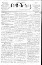 Österreichische Forst-Zeitung 18930324 Seite: 1