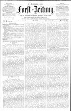 Österreichische Forst-Zeitung 18930414 Seite: 1