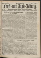 Österreichische Forst-Zeitung 19381104 Seite: 1
