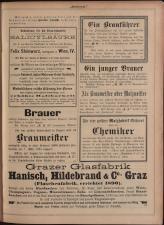 Gambrinus, Brauerei- und Hopfen-Zeitung 18930101 Seite: 31