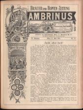 Gambrinus, Brauerei- und Hopfen-Zeitung 19050515 Seite: 1