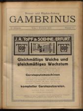 Gambrinus, Brauerei- und Hopfen-Zeitung