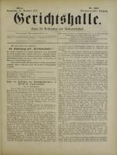 Gerichtshalle 18771220 Seite: 1