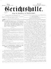 Gerichtshalle 18931009 Seite: 1