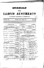 Giornale del LLoyd Austriaco