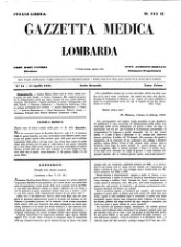 Gazzetta medica italiana