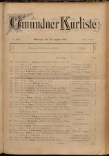 Gmundner Kurliste