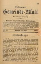 Gemeindeblatt Lustenau 18930416 Seite: 1