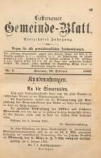 Gemeindeblatt Lustenau
