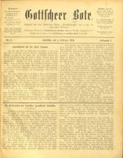 Gottscheer Bote 19040204 Seite: 1