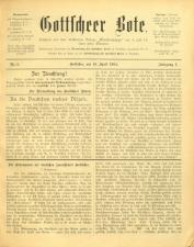 Gottscheer Bote 19040419 Seite: 1