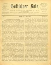 Gottscheer Bote 19040504 Seite: 1