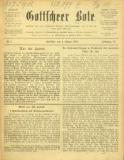 Gottscheer Bote 19070104 Seite: 1