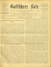 Gottscheer Bote 19070204 Seite: 1