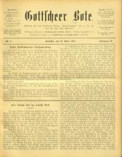 Gottscheer Bote 19070319 Seite: 1