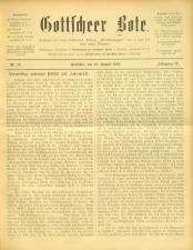 Gottscheer Bote 19070819 Seite: 1