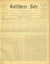 Gottscheer Bote 19071019 Seite: 1
