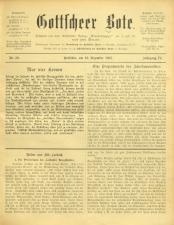 Gottscheer Bote 19071219 Seite: 1