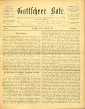 Gottscheer Bote 19080419 Seite: 1