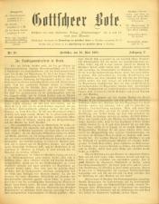 Gottscheer Bote 19080519 Seite: 1