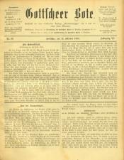 Gottscheer Bote 19091019 Seite: 1