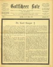 Gottscheer Bote 19100319 Seite: 1