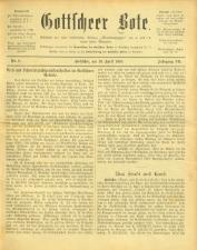 Gottscheer Bote 19100419 Seite: 1
