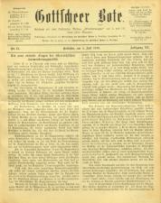 Gottscheer Bote 19100704 Seite: 1