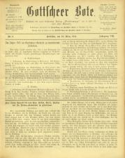 Gottscheer Bote 19110319 Seite: 1