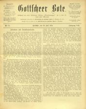 Gottscheer Bote 19110719 Seite: 1