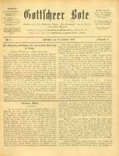 Gottscheer Bote 19130219 Seite: 1